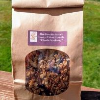classic cranberry granola bag front