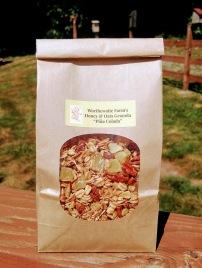 pina colada granola bag front